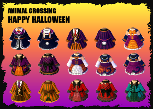 Animal Crossing: New Leaf: ULTIMATE GOTHIC HALLOWEEN OUTFITS ...