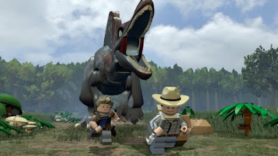 LEGO Jurassic World Gameplay Youtube
