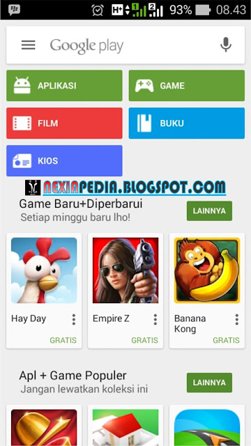 Cara Menghilangkan History di Google Play Store
