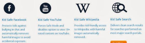 تصفح أنت وأطفالك الانترنت بأمان تام بلا مواقع غير مرغوب فيها أو محتوي غير أخلاقي eSafely