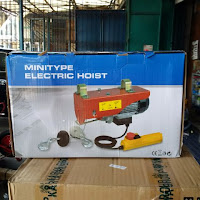 Electric Mini Chain Hoist - Jual Electric Hoist Bekasi - Harga Electric Chain Hoist