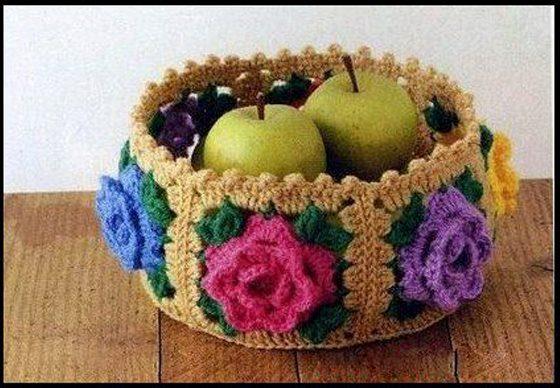 Tejidos a crochet para el hogar cositasconmesh for Tejidos decoracion hogar
