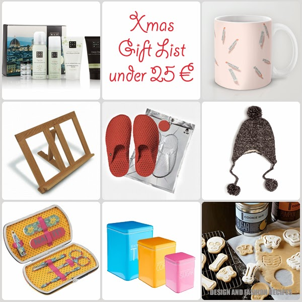 Xmas gift guide: list #1 on Design and fashion recipes
