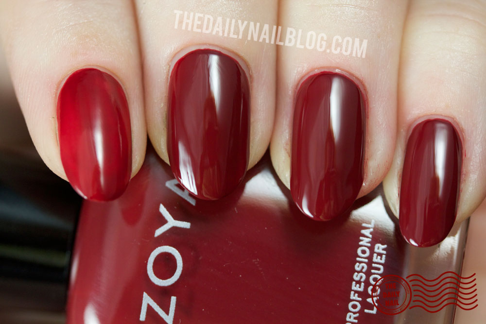 Zoya Cashmere Pepper Swatch Fall 2013