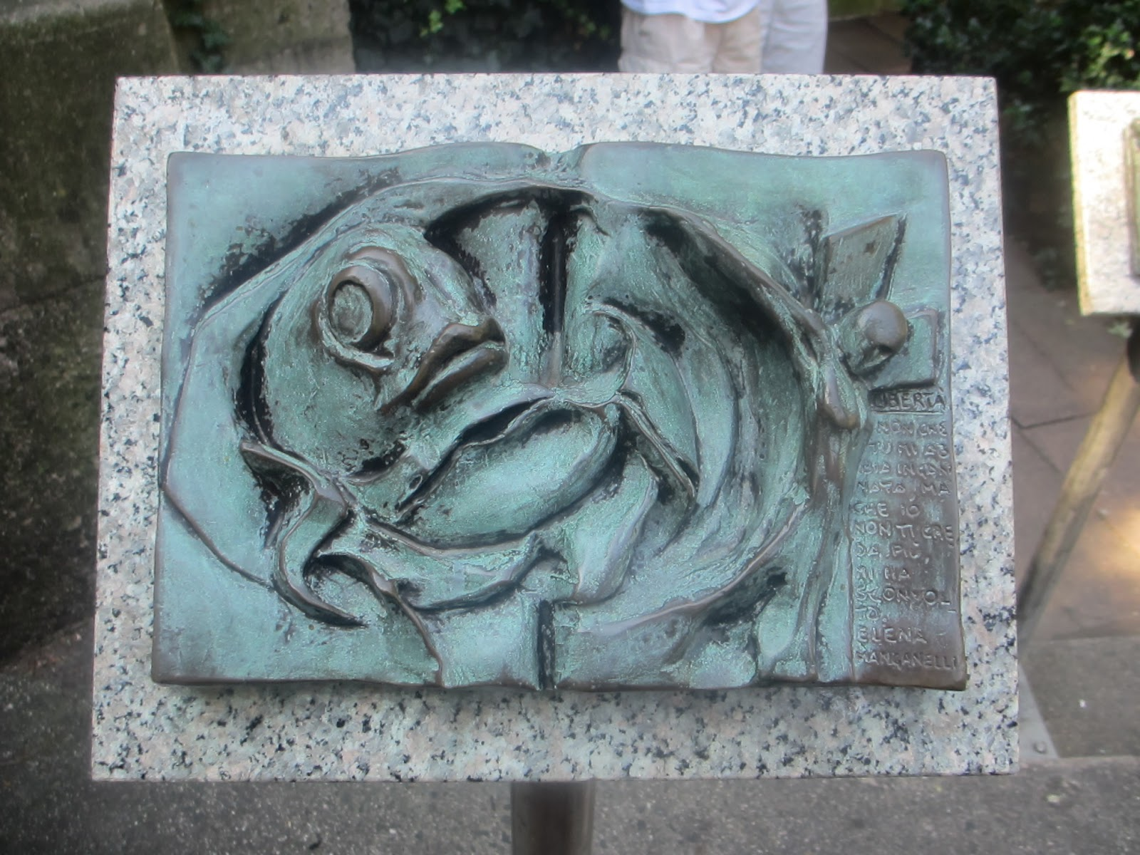 The Peace Fountain at Cathedral of St. John the Divine............A ...