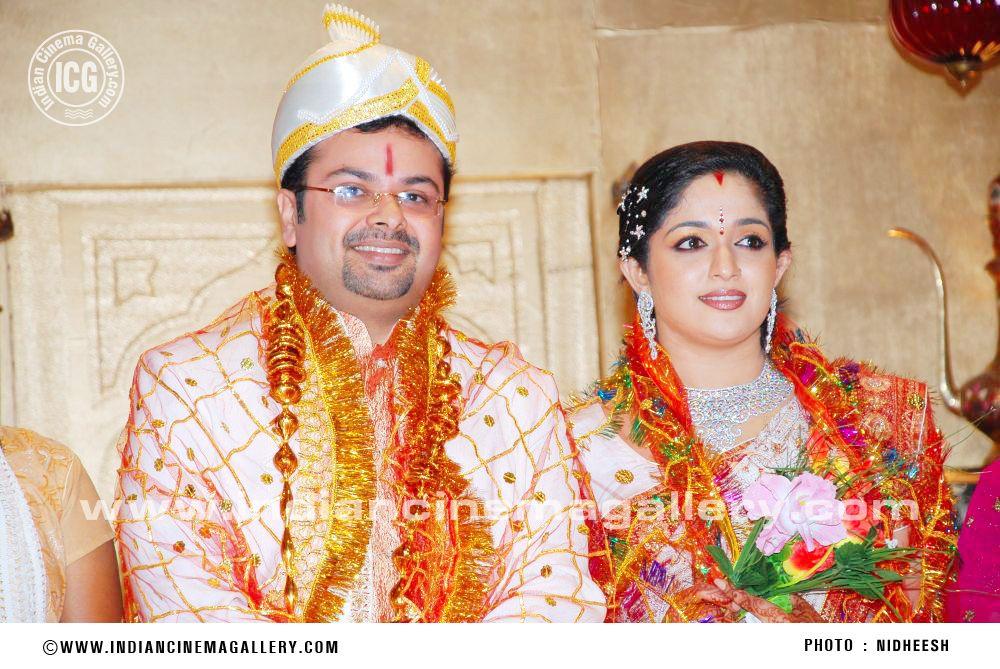 Kavya Madhavan Wedding Reception Photos At Neeleswaram