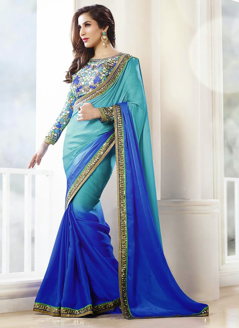 Fancy Office Wear or Party Wear Online at Indian Saree Store ~ Buy ...
