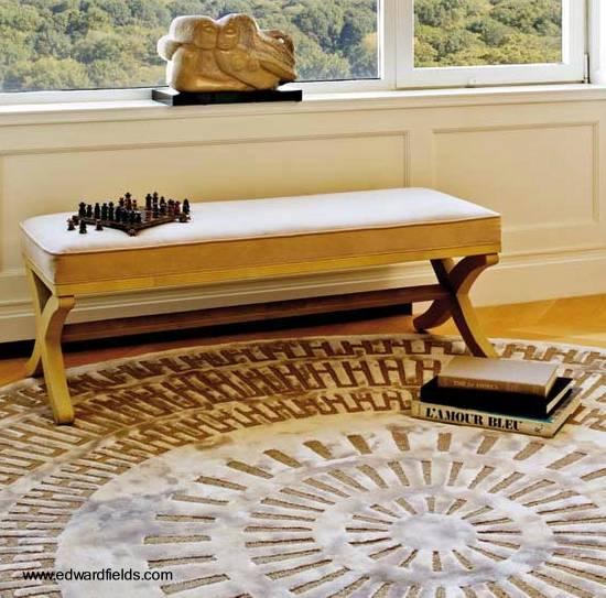 Alfombras de diseo moderno alfombras modernas kilopond for Alfombras redondas modernas