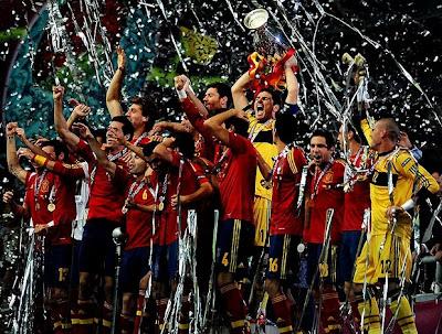 seleção espanhola ganha mais um título