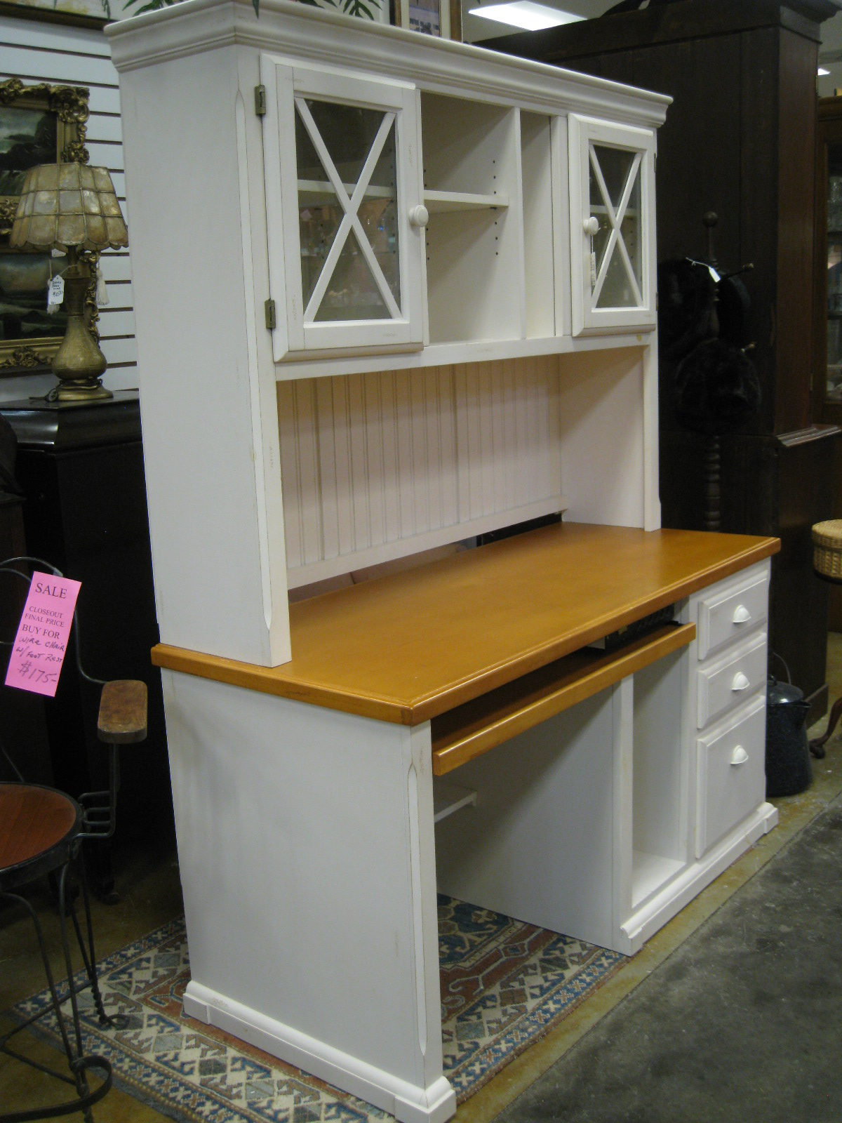 Antiques, Art, and Collectibles: Vintage kitchen desk ...