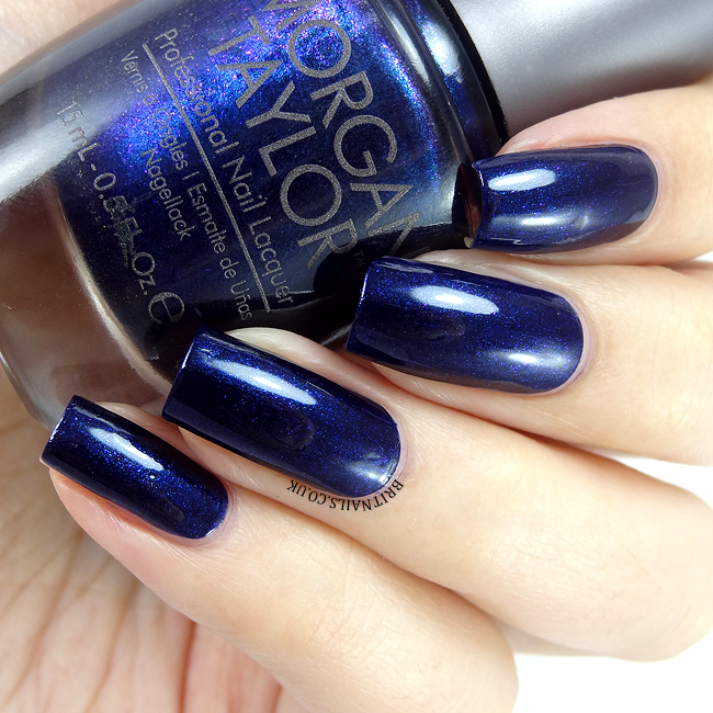 Morgan Taylor New Year New Blue
