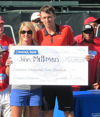 Aussie Millman makes Aptos history with title