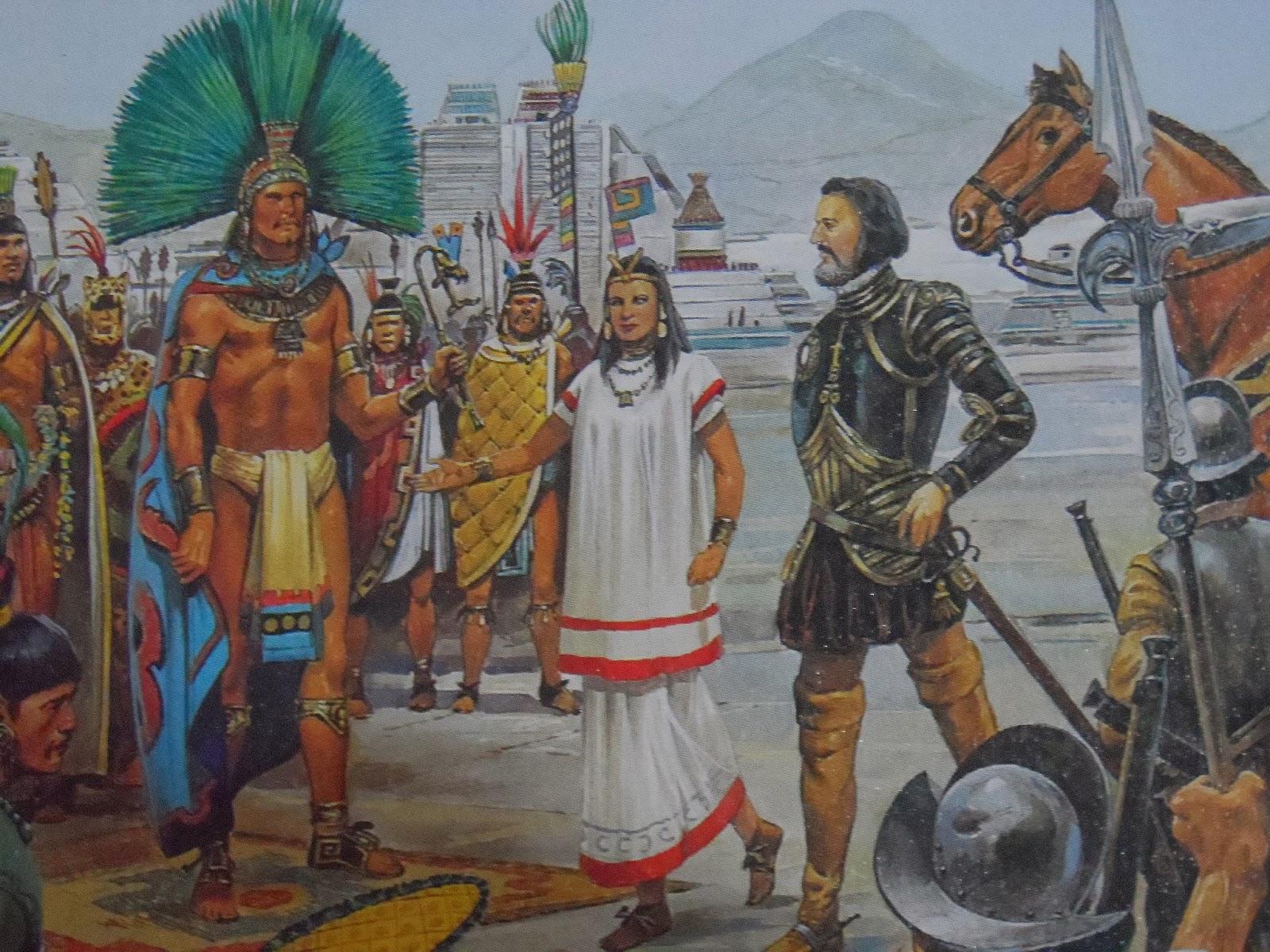 Las expediciones espa olas y la conquista de tenochtitl n for El cuarto poder 2 0
