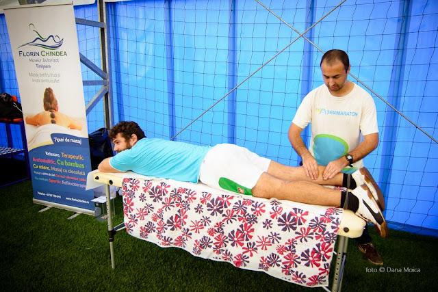 Florin Chindea, maseur oficial al turneului caritabil de fotbal - Împreună susţinem Hidroterapia. 18 octombrie 2015. Timişoara. Alin Bănică