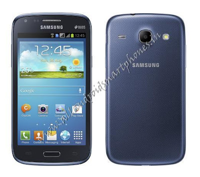 Samsung Galaxy Core 3G Android Smartphone Blue Image & Photo Review