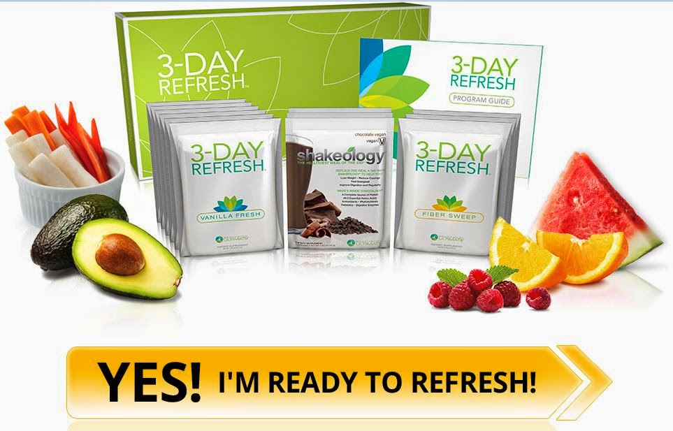 3 day refresh, 3 day cleanse