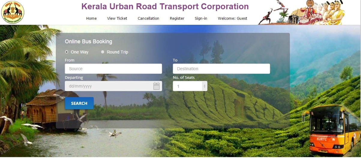 ac volvo bus services started from cochin to munnar with online