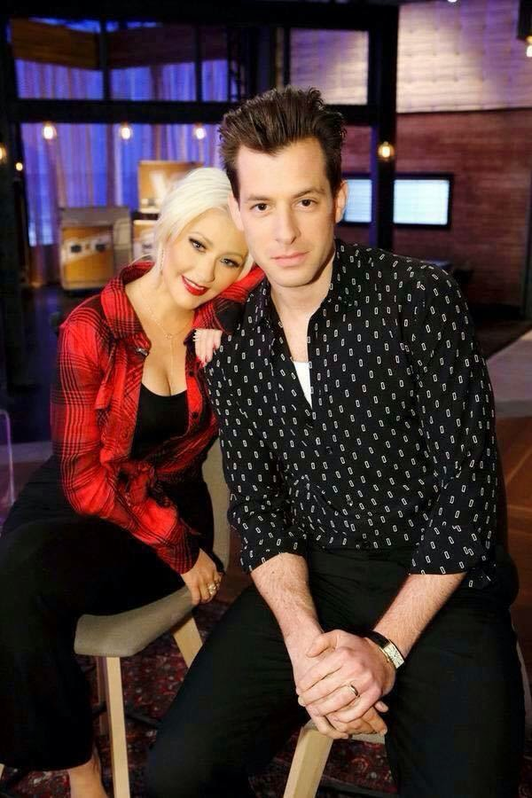 christina aguilera mark ronson