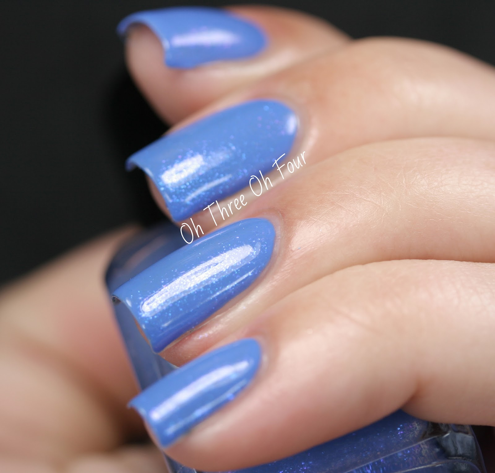 Lynnderella Blue Melody Swatch