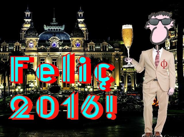 Gràcies per acompanyar-me un any més. Desitjo que tinguéu un extraordinari any 2016!