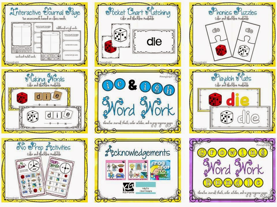 https://www.teacherspayteachers.com/Product/Phonics-Word-Work-ie-igh-1237268