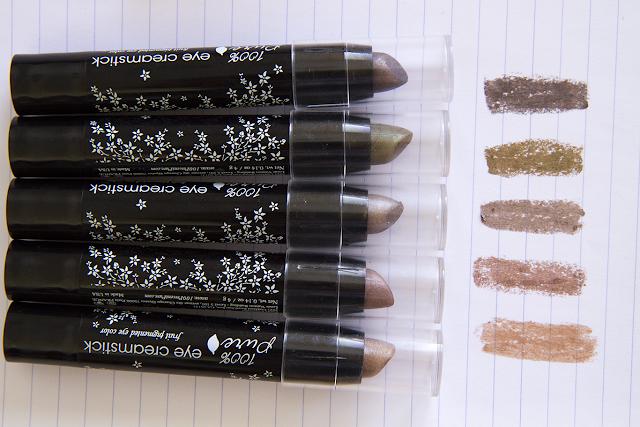 Photo of 100% Pure Eye Creamsticks.