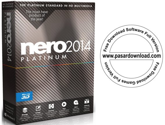 Free Download Nero Platinum 2014 15.0.07700 Full Keygen