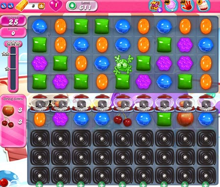 Candy Crush Saga 611