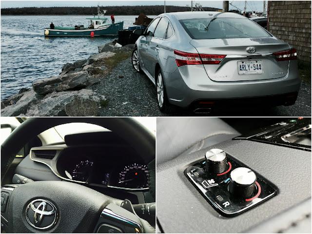 2015 Toyota Avalon collage