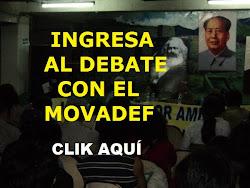 DEBATE CON EL MOVADEF