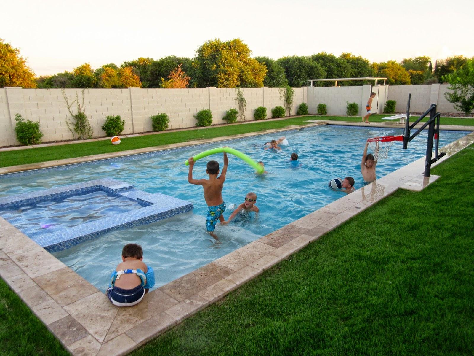 Pipes of pam becca 39 s baptism and mesa memories for Mesa swimming pool