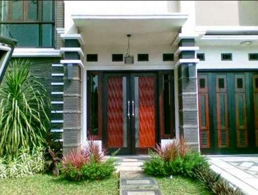 teras rumah minimalis 4