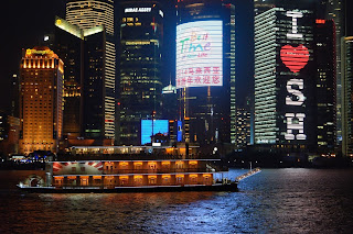 Mississippi River style boat on the Huangpu River in Shanghai