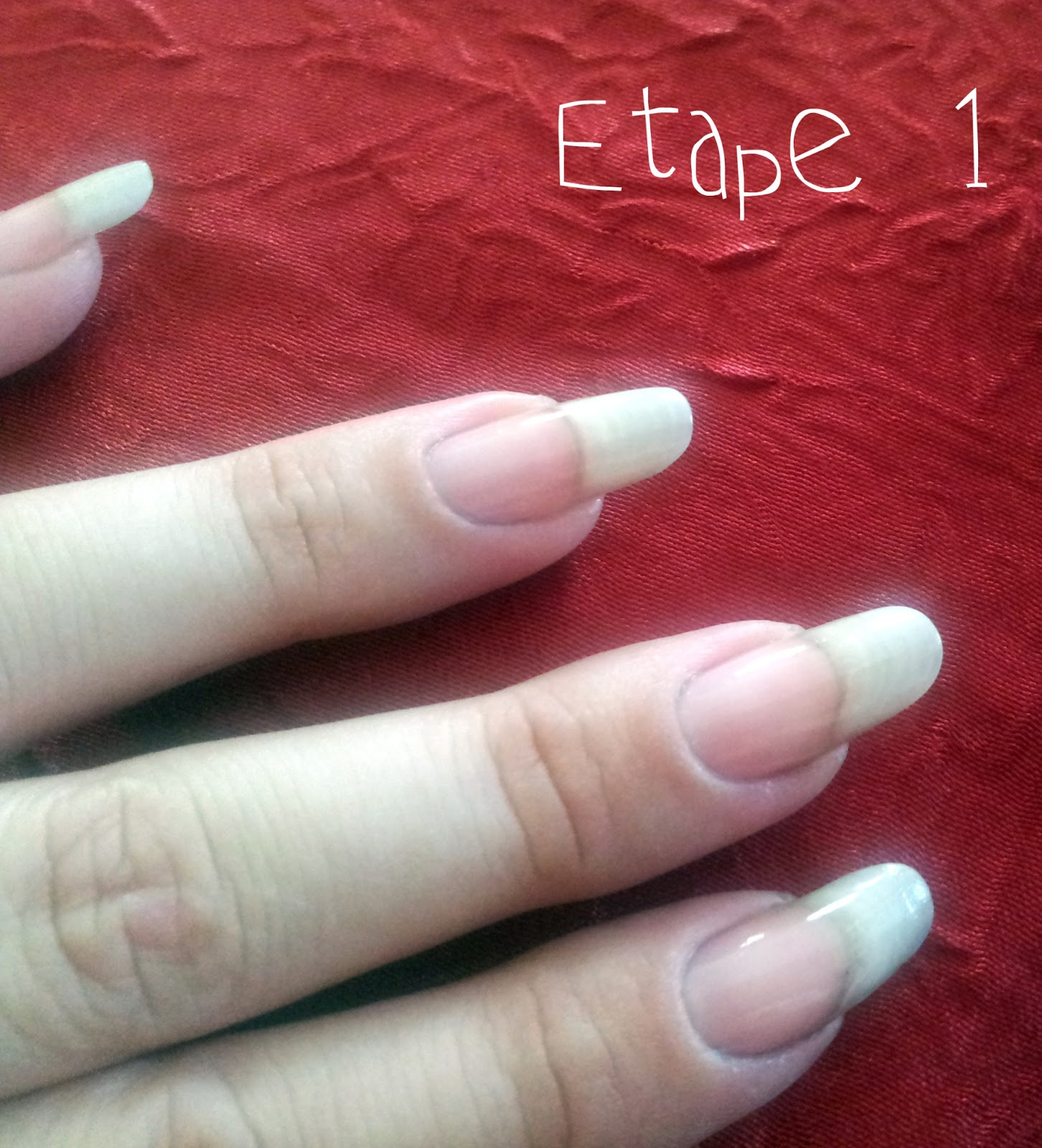 Nail art by choubidoo tuto la french manucure pour les nulles - Tuto french manucure ...