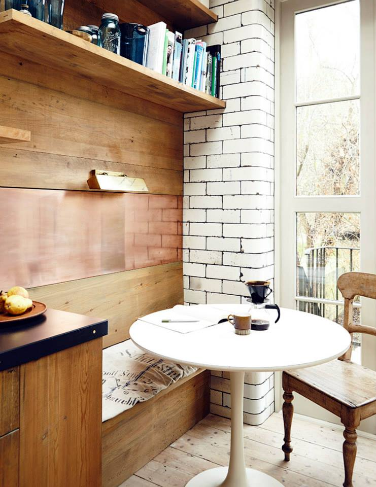 Lunch Latte Reclaimed Materials In An East London Home