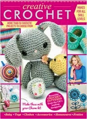 .Creative crochet bunny and chick