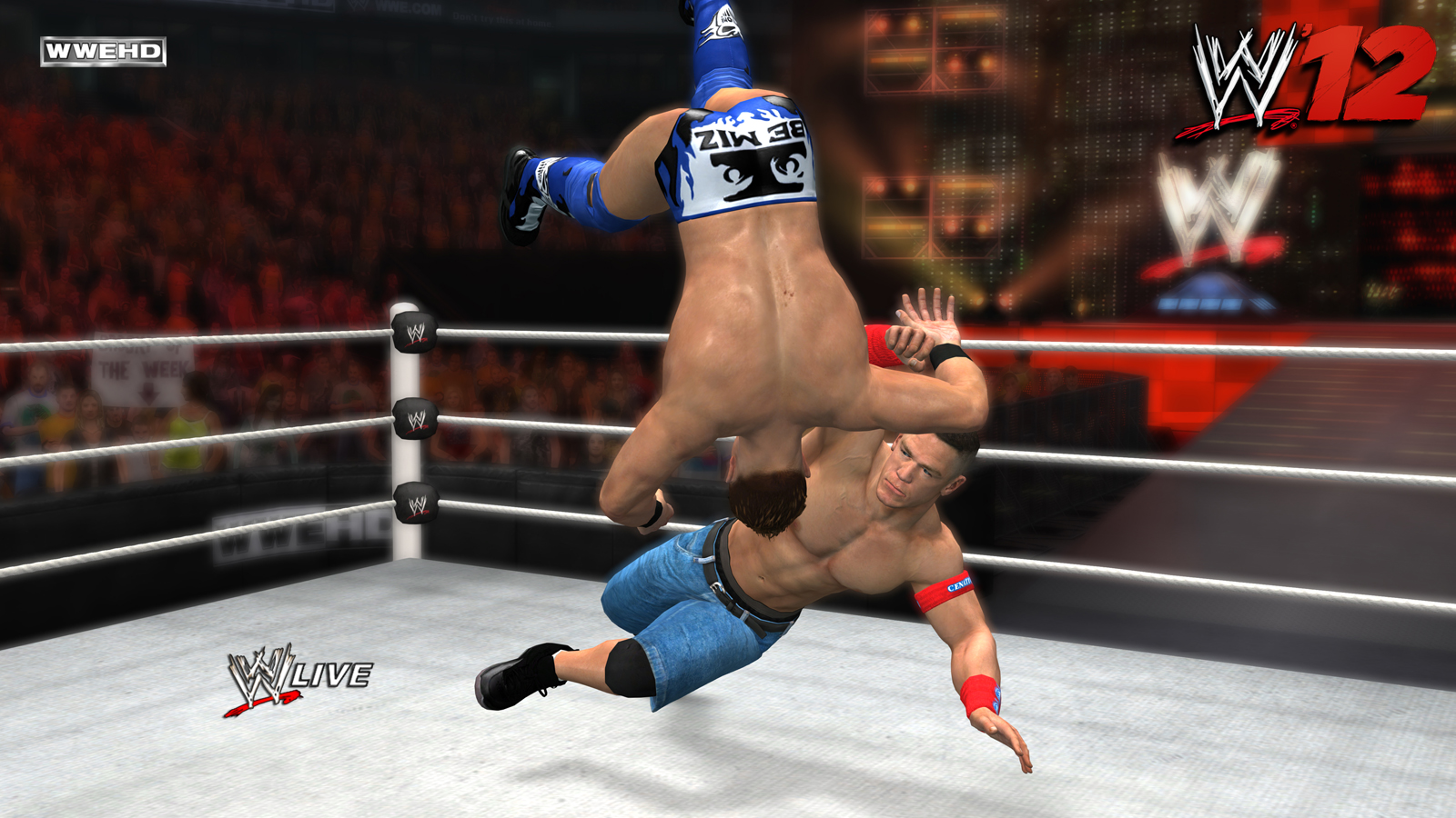 WWE 12 For PC | Free Full Pc Games at iGamesFun