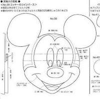 Moldes de E.V.A para festa infantil - Disney