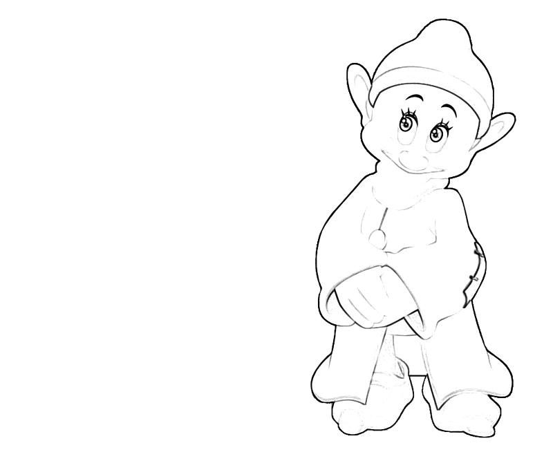 coloring pages of dopey - photo#13