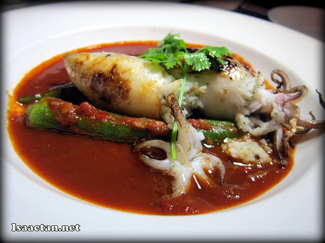 Stuffed Squid - RM25.90