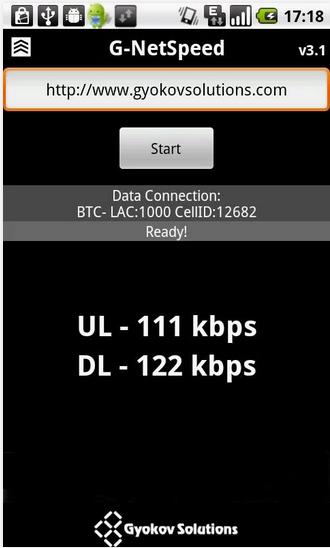 test speed koneksi internet G-Net Speed www.imron22.com