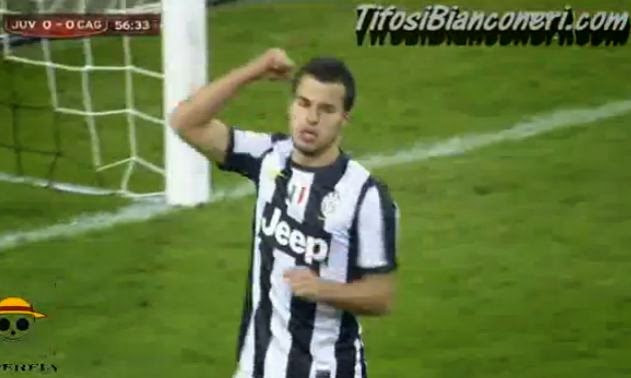 Juventus-Cagliari 1-0 Zambruno