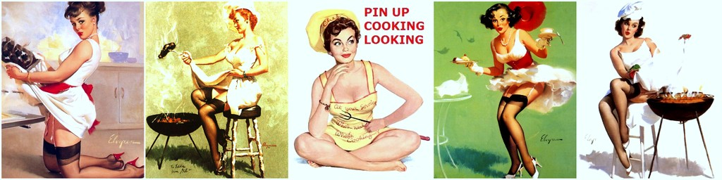 Pin up Cooking Looking