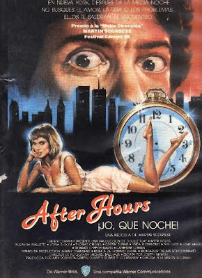 Jo, ¡qué noche!, After hours, Martin Scorsese, Griffin Dunne, Rossana Arquette,