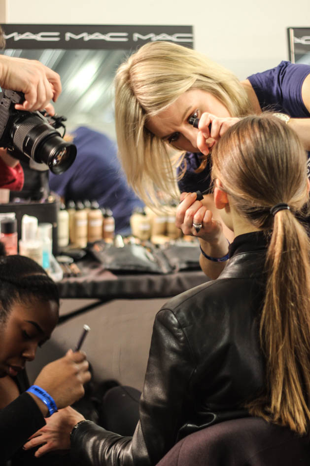 Backstage At House Of Holland Autumn Winter 2015