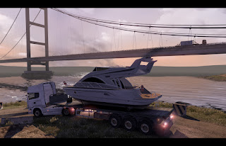 Scania truck driver simulator game Yacht