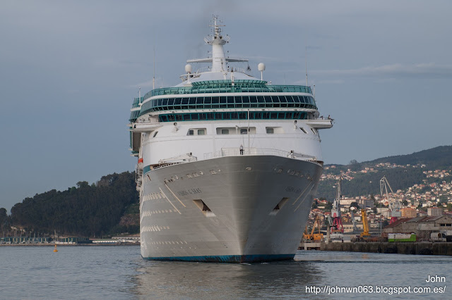 vision of the seas, royal caribbean, puerto de vigo