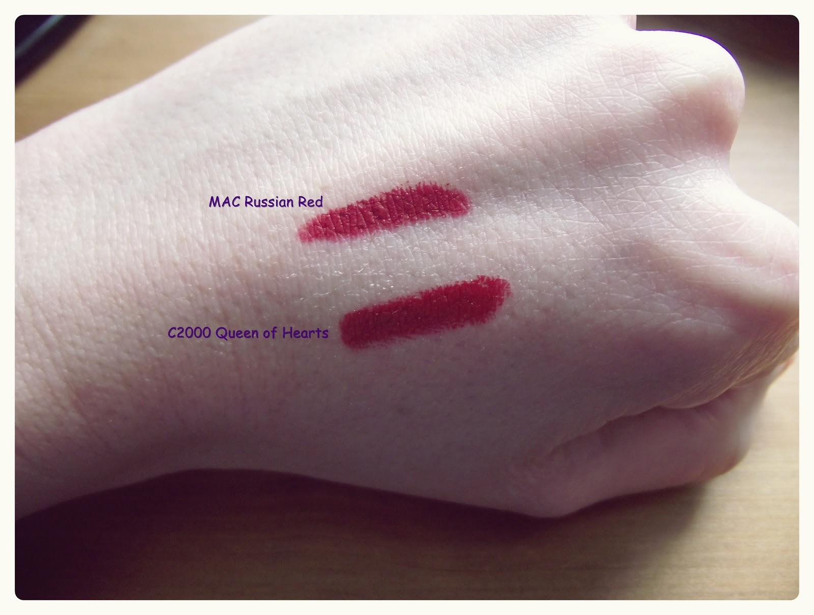 ... Follower of Fashion: Mac Russian Red Dupe