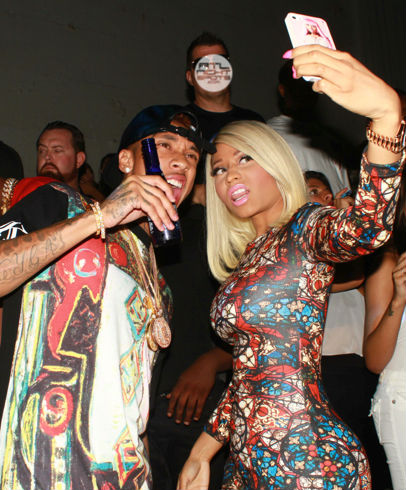 Nicki Minaj Supper Nightclub in Los Angeles