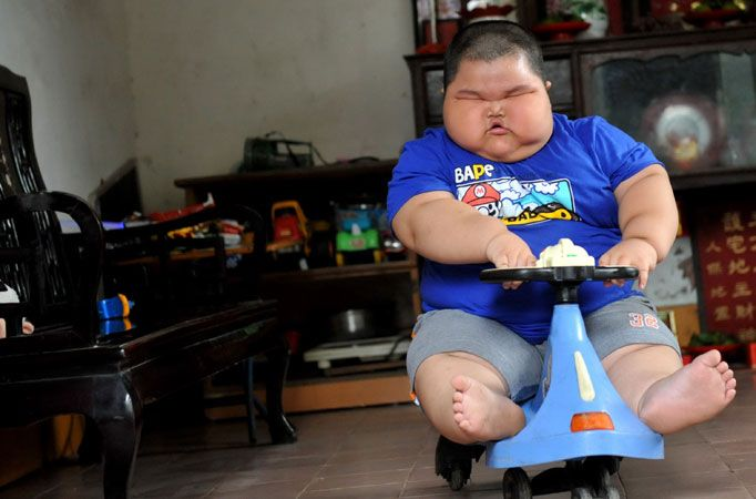 YOU ALL WANT: The Fattest Baby in the World